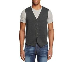 The Menand039s Store Bloomingdales Dark Gray Wool V-neck Vest M Xl