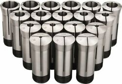 Value Collection 18 Piece, 1/16 To 1-1/8 Capacity, 5c Round Collet Set Incre...