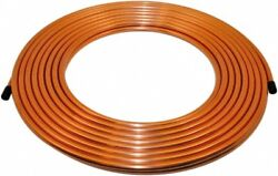Made in USA 50 Ft. Long 516 Inch Outside Diameter Alloy 122 Copper Tube 0....