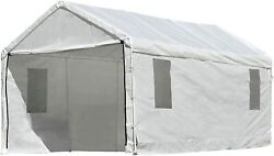 Outdoor Canopy Enclosure Kit 10 X 20 Car Port Shelter Cover Tent Portable Garage