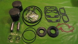 532 Rotax Aircraft Engine Piston Top End Rebuild Kit 72.25 W Bearings And Gaskets