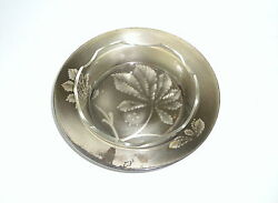 Seltene Bowl Plate With Original Glass Insert Wmf Ikora About 1930 Marked