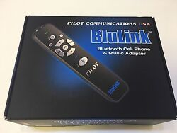 Pilot Usa Blu Link Bluetooth Adapter For Helicopter Headsets With U-174 Plug