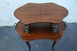 Very Unusual French Rosewood Two-tier Server Table