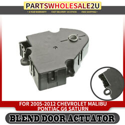 HVAC Heater Blend Air Door Actuator For Chevrolet Malibu Pontiac Saturn 604-135
