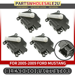 4 HVAC Air Blend Door Actuators for Ford Mustang 05-09 Defrost and Mode Actuator