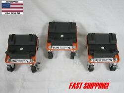 Snow Plow Blade Storage Dolly Caster For Snow Plow Blade And Snowmobile