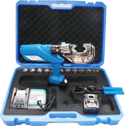110-240v Rechargeable Hydraulic Pliers/electric Hydraulic Crimping Tool 10-42mmandsup2
