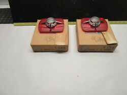 1965 Ford Fairlane Wagon Taillight Lens With Back Up Light Tail Light