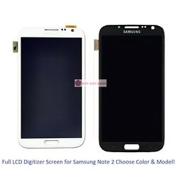 Full Lcd Digitizer Screen Display Replacement Part For Samsung Galaxy Note 2 Ii