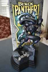 Bowen Black Panther Modern Full Size Statue 497 of 1000 NEVER DISPLAYED