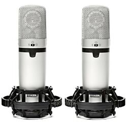 Miktek C7MP Matched Pair of C7e Large Diaphragm Multi-Pattern FET Condenser Mics