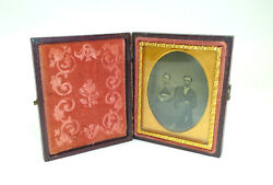 Ferrotype/photo 19 Jh Tintype Collection Dissolution