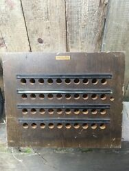 Vintage Antique TELEPHONE SWITCHBOARD Western Electric Empty Wood Box