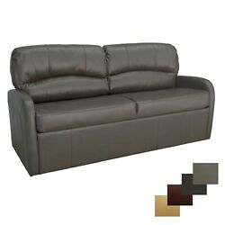 Recpro Charles 70 Chestnut Jack Knife Rv Sleeper Sofa Bed Couch With Arms