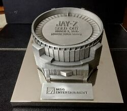 Rare Jay-z Sold Out 3/2/2010 Madison Square Garden Band Gift Only 3 Pieces Made