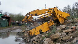 Jcb 414 Farm Master Loading Shovel Chassis And Loader Arms Quick Hitch And Rams