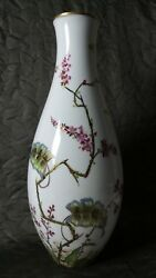 Beautiful Large Rosenthal Kunstabteilung Selb Germany Hand Painted And Signed Vase