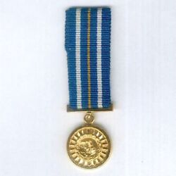 South West Africa Miniature Police Star For Distinguished Service, 1981-89 Issue