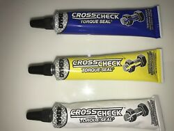 Dykem Cross Check Torque Seal 3 Pack Blue Yellow White Indication Paste