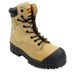 Duradrive Menand039s Csa Tundra 8 In. Insulated Composite Toe Metal Free Work Boot