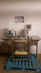 Hobart Model Hws-4 Commercial Heated Meat Wrapping Station W Scale And Printer