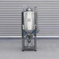 Ss Brewtech Unitank - 1/2 Bbl - Conical Brite Tank All In One Brewing Beer Keg