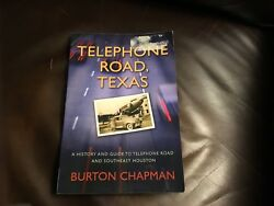 Great Houston,tx Area Book Telephone Road,texas History,hard To Find