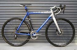 NAHBS 2012 Independent Fabrication Ti Factory Lightweight Hydro Disc CX Bike New
