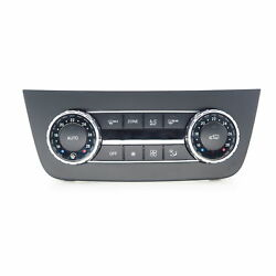 climate control panel Mercedes M-CLASS W166 ML gl glE glS 06.11-