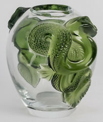 Lalique Dragon Vase Green (JADE COLOR) Limited Edition of 99