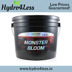 Grotek Monster Bloom - 10 kg Booster Flower Enhancer Hydroponic Nutrient Powder