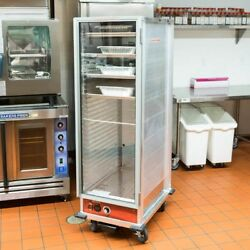 NIB Full Size Non-Insulated NSF Heated Holding  Proofing Cabinet w Clear Door