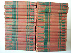 Vintage Nelsons Encyclopedia 1940 Complete Unabridged Set of 30 from A - Z