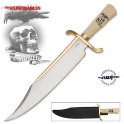 Gil Hibben Expendables 20 Bowie Knife With Sheath Official License Collectible