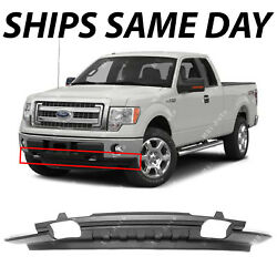NEW Textured Front Lower Bumper Valance for 2009 2014 Ford F150 W out Sport Pkg $126.60