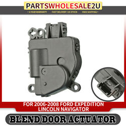 Heater Blend Air Door Temperature Actuator for Ford  Lincoln 06-08 Sport Utility