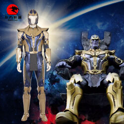 Dfym Thanos Cosplay Costume Avengers Infinity War Thanos Golden Outfit Halloween