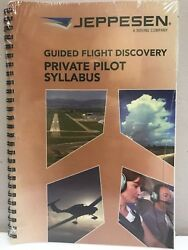 Jeppesen Guided Flight Discovery Private Pilot Syllabus P/n 10001292