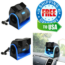 Portable Car Air Conditioner For Car SUV Van 12V Adjustable Silent Cooler Vent