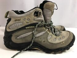Merrell Chameleon Arc Mid Ventilator Gore-Tex TRAIL HIKING BOOTS WOMEN'S Sz 7.5