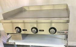 """36"""" Griddle Heavy Duty Flat Grill Thermostatic Thermostat Temperature 3'"""