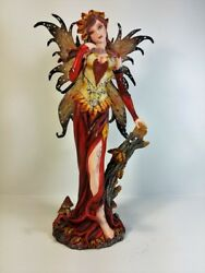 91457 Brown Fairy Standing Collectible Figurine By Backwoods Lighting Llc