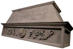Stone Range Hood - Any Size/color - Mediterranean - Easy Install Free Samples