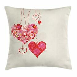 Wedding Throw Pillow Cases Cushion Covers By Ambesonne Home Decor 8 Sizes