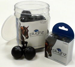 Plughz Soft Ear Plugs For Horse Pony Hearing Protection Safety Gear Foam 10 Pair