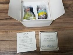 Lenox Collections Springtime Sparkle Glass Chick With Egg. New