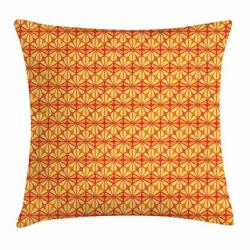 Orange Throw Pillow Cases Cushion Covers By Ambesonne Home Decor 8 Sizes