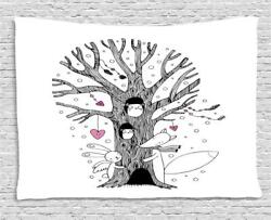 Illustration Tapestry Wall Hanging Art for Bedroom Dorm Room 2 Sizes Available
