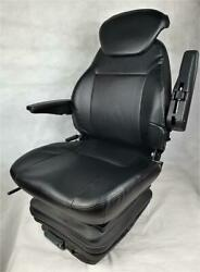 Basic Eco Plus Pvc Tractor Seat Tractor Excavator Seat Forklift Driver Seat